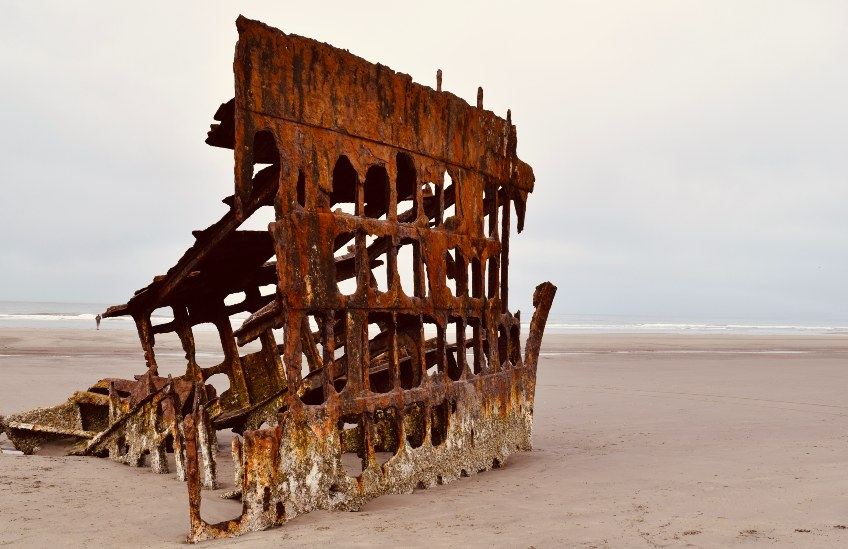 the peter iredale ship